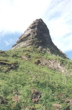 Gipfel auf den Lofoten