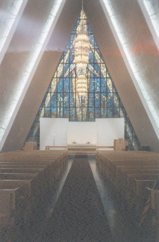 Kirchenfenster der Eismeerkathedrale