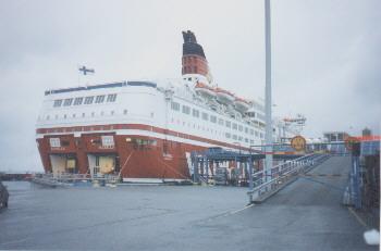 F�hrschiff nach Stockholm